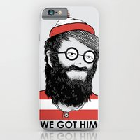 iPhone Cases featuring We Got Him by Nikoby