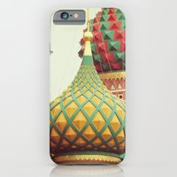 iPhone & iPod Case featuring Russian Onion Domes by happeemonkee