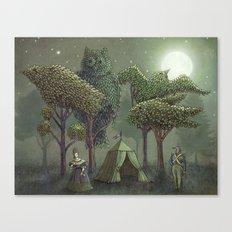 Rendezvous Canvas Print