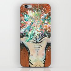 The Vulnerability Evoked in Failing to Capture the Mind's Ceaselessly Combusting Ephemera iPhone & iPod Skin