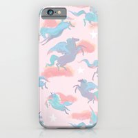 iPhone & iPod Case featuring Magic Ponies by Julia Marshall
