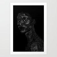 Black Girl #2 Art Print
