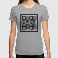 Victorian tile pattern #1 Womens Fitted Tee Athletic Grey SMALL