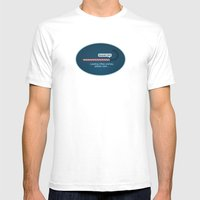 XMAS Wishes Preloader Mens Fitted Tee White SMALL