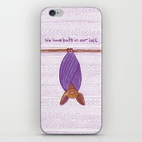 We Have Bats in Our Loft iPhone & iPod Skin