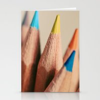 stand out from the crowd Stationery Cards