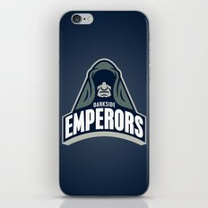 DarkSide Emperors -Blue iPhone & iPod Skin