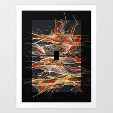 Midnight Fever Art Print