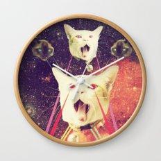 galactic Cats Saga 4 Wall Clock