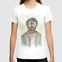 zombie T-shirts featuring Zombie! by Chris Gauvain