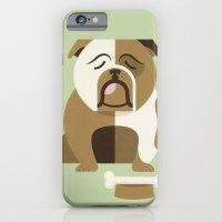 Bulldog - Green Variant iPhone 6 Slim Case
