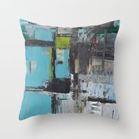 Abstract 2014/11/12 Throw Pillow
