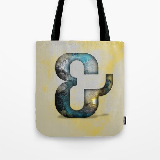 Ampersand Series - Silom Typeface Tote Bag
