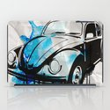 VW Beetle drip iPad Case