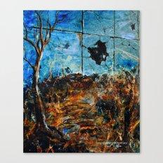 BROKEN LANDSCAPE Canvas Print