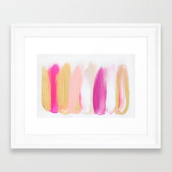 Colors 201 Framed Art Print