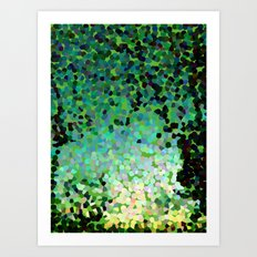 The Emerald Isle Art Print