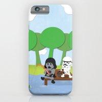 SW Kids - Darth Fishing iPhone 6 Slim Case