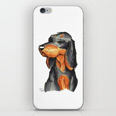 Brush Breeds-Black-and-Tan Coonhound iPhone & iPod Skin