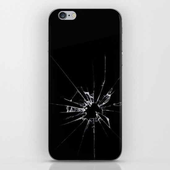 Break glass iPhone & iPod Skin