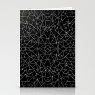 Abstract Collide Outline… Stationery Cards