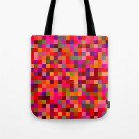 Pixel Painting Tote Bag