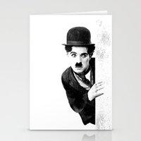 MR CHAPLIN Stationery Cards