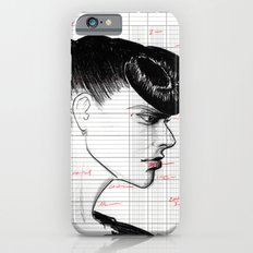 Fashion Hair with Ledger Flair iPhone 6s Slim Case