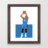 Thunder Up Framed Art Print