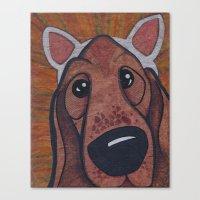 Kitty Puppy Canvas Print