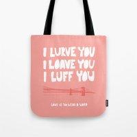 I Lurve You - Annie Hall Tote Bag