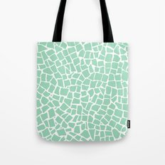 British Mosaic Mint Tote Bag