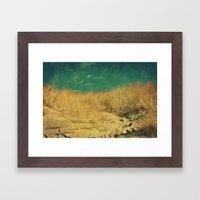 Sea feelings Framed Art Print