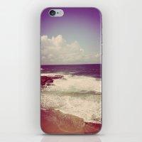 Winter Waves iPhone & iPod Skin