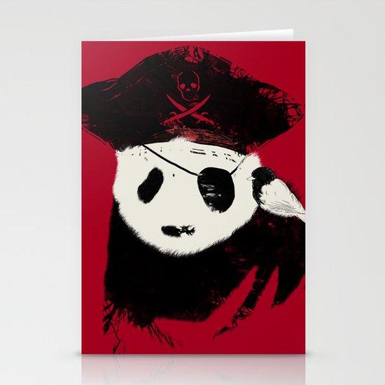 Bio Piracy Stationery Card