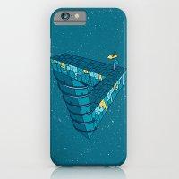 iPhone & iPod Case featuring City night by Bajibaj