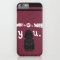 iPhone & iPod Case featuring dARTh vader by christopher-james robert warrington