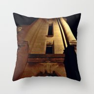 Throw Pillow featuring Street Light Glow by Dorothy Pinder