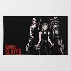 The Baddest Slayer Alive Rug