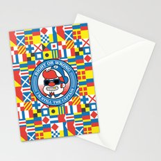Right or wrong, I'm still the captain Stationery Cards