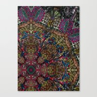 Psychedelic Botanical 9 Canvas Print