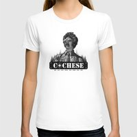 Cochese... Womens Fitted Tee White SMALL