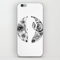 Silent Beauty iPhone & iPod Skin