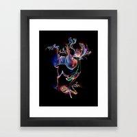 Survival of the Kindest Framed Art Print