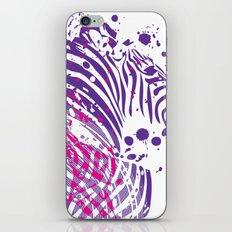 Zebra Vinyl iPhone & iPod Skin