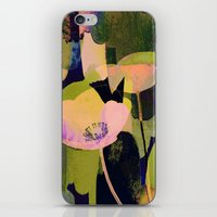 3 Abstract Flowers  Http… iPhone & iPod Skin
