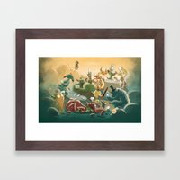 Goblins Drool, Fairies Rule! - Team Goblin Framed Art Print