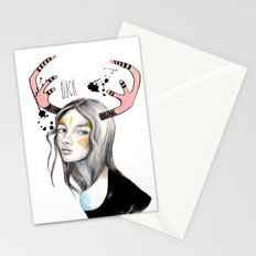 Buck (isolated) Stationery Cards