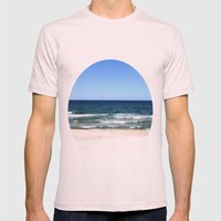 sea calling Mens Fitted Tee Light Pink SMALL