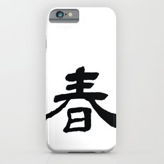 Chinese Calligraphy - SPRING iPhone 6s Slim Case